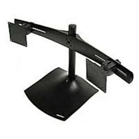 ergotron ds100 dual monitor desk stand ergotron ds100 dual monitor desk stand horizontal black