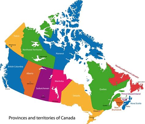 map of canada and provinces and territories visit canada 2017 all official travel tourism websites