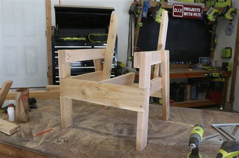 diy patio chairs diy patio chair plans and tutorial step by step