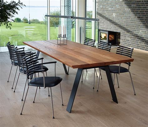 Modern Style Dining Tables Angular Dining Table From Denmark Dm3200 Wharfside