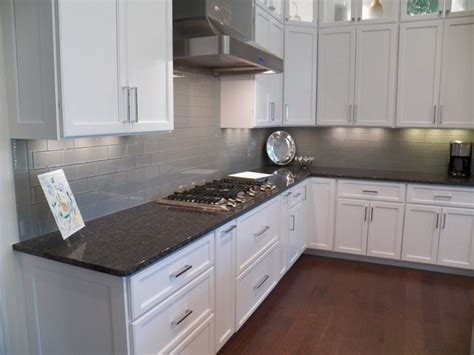 gray glass tile kitchen backsplash gray kitchen backsplash ideas quicua