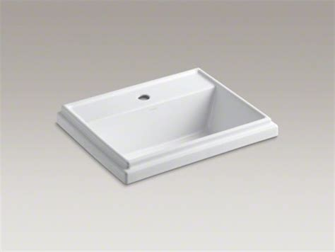 rectangular drop in bathroom sink kohler tresham r rectangular drop in bathroom sink with
