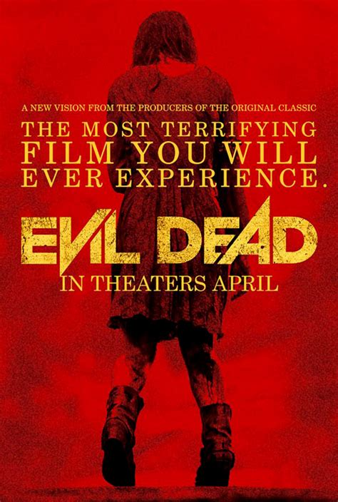 evil dead film rights fat movie guy evil dead 2013 movie poster fat movie guy