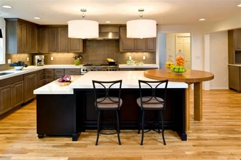 multi level kitchen island