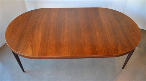 round dining room tables with leaves mid century round or oval rosewood dining table with