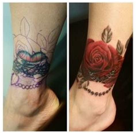 tattooed heart male cover good cover up tattoo roses clock mirror ink if ve got