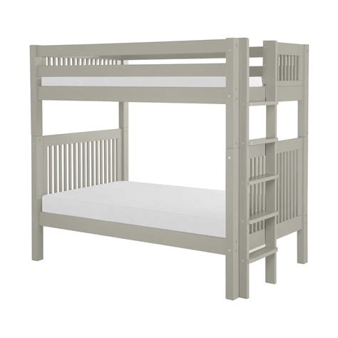 Ladder Bunk Bed Camaflexi Mission Bunk Bed With Vertical Bed End Ladder Atg Stores