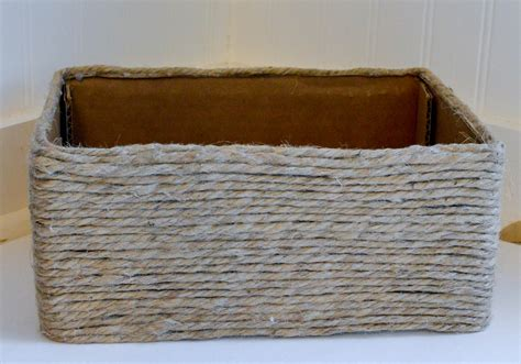 How To Make A Woven Basket Out Of Paper - diy woven basket easy affordable the simply