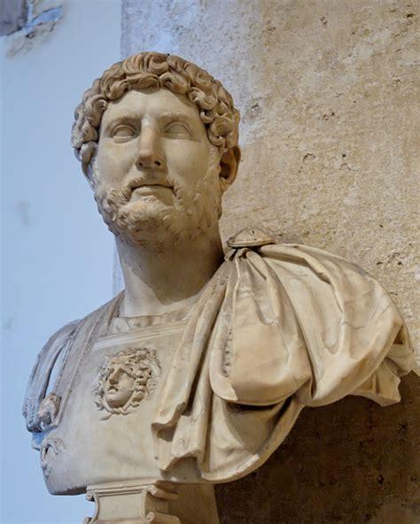 famous greek statues file bust hadrian musei capitolini mc817 jpg wikipedia