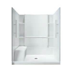 sterling accord 36 in x 60 in x 74 1 2 in shower kit