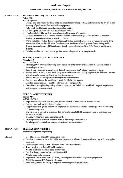 42 quality engineer sample resume quality assurance engineer resume