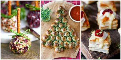 holiday appetizers 60 easy thanksgiving and christmas appetizer recipes
