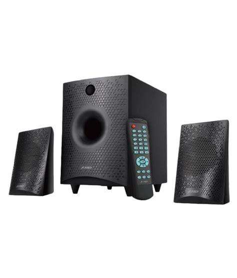 Speaker Bluetooth F D buy f d f210x 2 1 bluetooth speakers black at