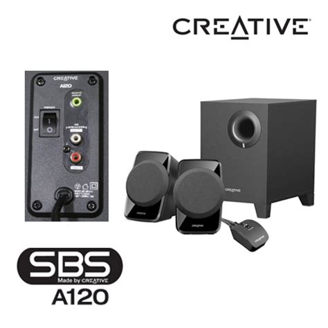 Speaker Aktif Creative A120 pc zone creative a120 computer speakers