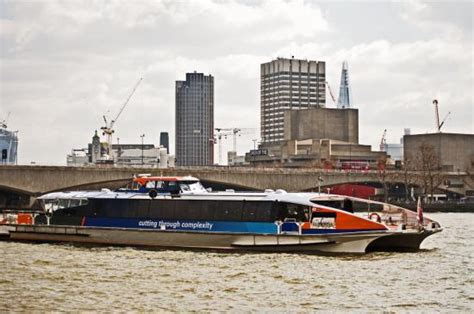 river thames yellow bus thames river bus picture of thames river london