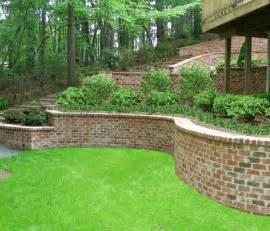 Burm House contour grading retaining walls amp erosion control