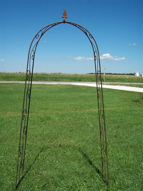 Thin Trellis Wrought Iron Narrow Arch For Sale Garden Trellis