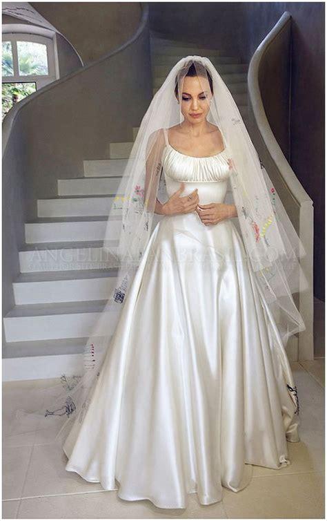 braut or brat brad pitt and angelina jolie s wedding aj pinterest