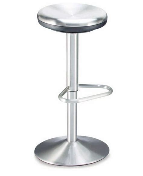Brushed Chrome Bar Stools by Adjustable Barstool In Brushed Chrome Prime Classic Design