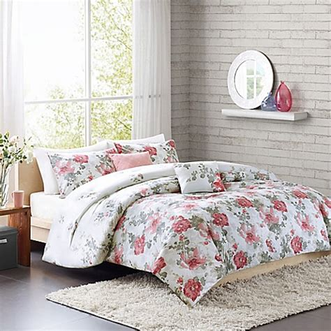 cozy soft 174 beaumont reversible 4 5 piece comforter set