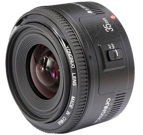 the yongnuo yn 35mm f 2 clone lens for canon dslr cameras