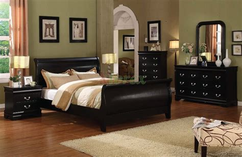 sleigh bedroom furniture sets louis phillip sleigh platform bedroom furniture set 168