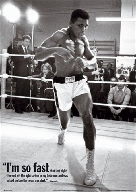 Muhammad Ali Bed by I M So Fast That Last I Turned The Light Switch