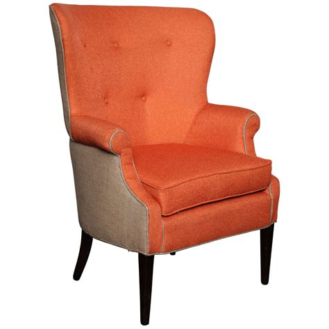 vintage wingback chair at 1stdibs antique scandinavian wingback chair updated in jute