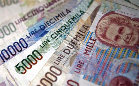 cambio lira d italia lire consulta riapre al cambio con bloccato da