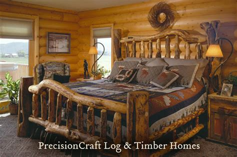 log cabin bedroom decorating ideas a precisioncraft milled log home located in utah flickr