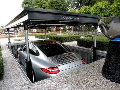 awesome underground home parking solutions with car lift