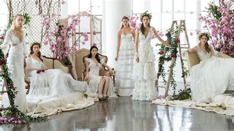 Beautiful Bridal Gowns by The Most Beautiful Wedding Dresses From Bridal Fashion Week