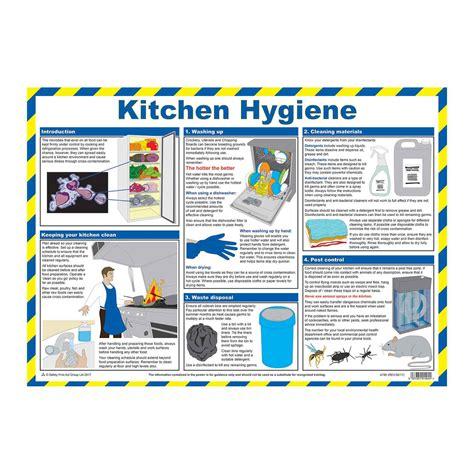 Kitchen Hygiene Items Kitchen Hygiene Food Hygiene Wallchart Food Safety