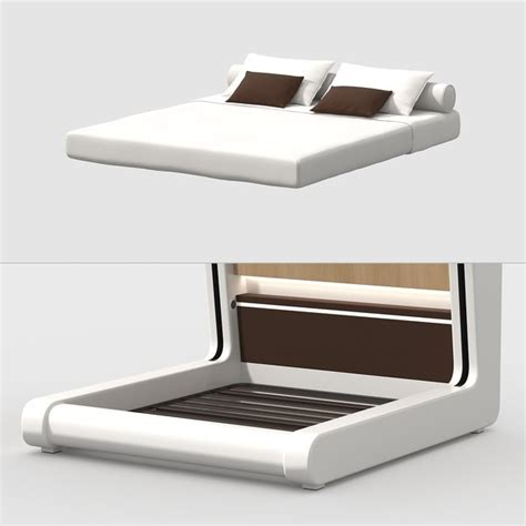 Futuristic bed 3ds