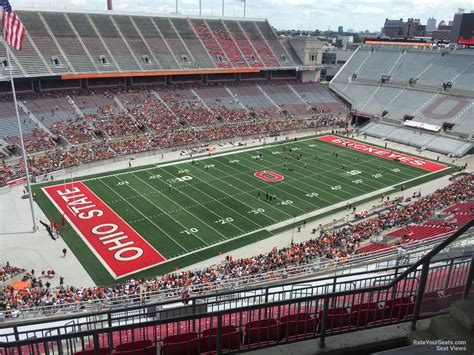section 11d ohio stadium section 11d rateyourseats com
