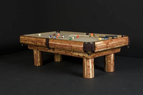 Log Cabin Table Ls by Log Pool Tables Rustic Billiards