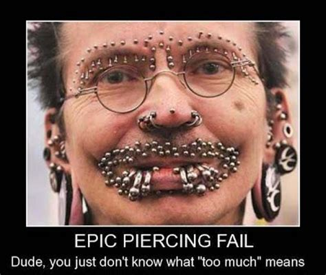 tattoo lip fail 1000 images about hilarious piercing memes on pinterest