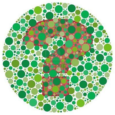 green color blind test
