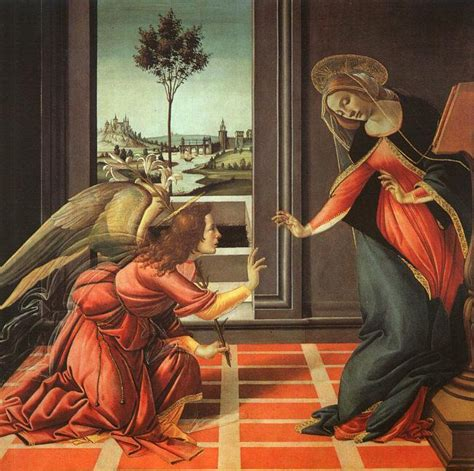 botticelli cuadros my favorite theme in art the annunciation soulpainter