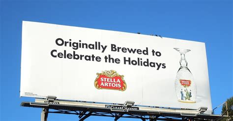 celebrate the holidays westeros style with 23 game of daily billboard stella artois originally brewed to