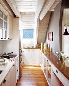 Narrow Galley Kitchen Designs Skinny Kitchen Home Pinterest