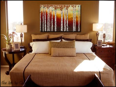 Bedroom Paintings For Sale Abstract Paintings Bedazzling Birches Birch Tree