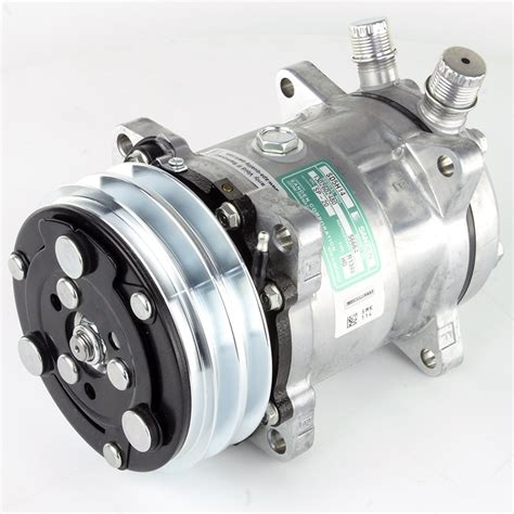 universal air conditioning compressor a drive belt and side unions car builder