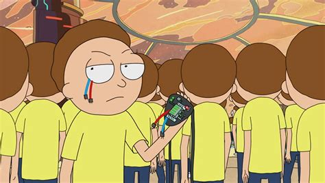 Is Evil Morty Detoxed Morty by The Birth Of Evil Morty On Rick And Morty S03e05