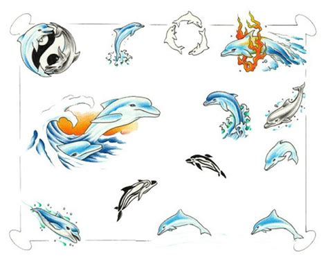 tribal dolphin tattoos designs dolphin tattoos