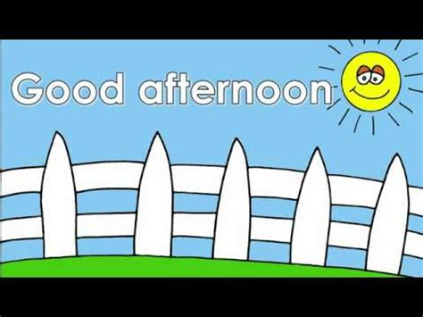 imagenes en ingles good afternoon ingilis dilinde salamlasma youtube
