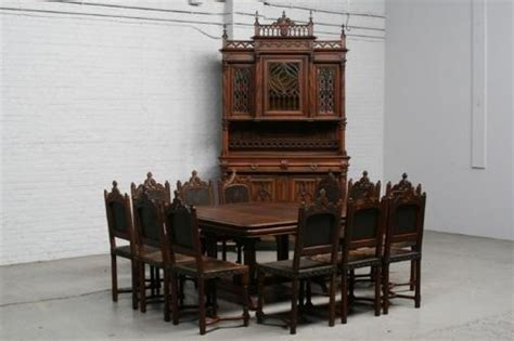 the ultimate dining room set gothic furniture and