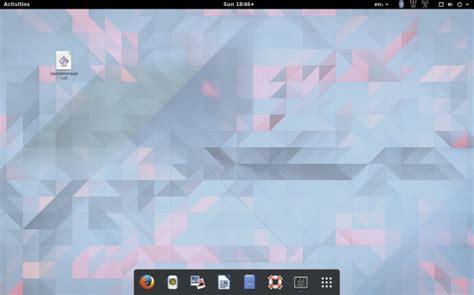 unity layout manager gnome com visual do unity mac ou windows com o gnome