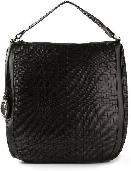 Roberto Cavalli Acapulco Large Hobo by Class Roberto Cavalli Lulu Hobo Bag In Black Lyst