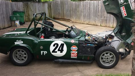 triumph spitfire race car  sale